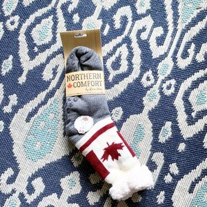 Northern Comfort Long Slipper Fuzzy Socks NWT